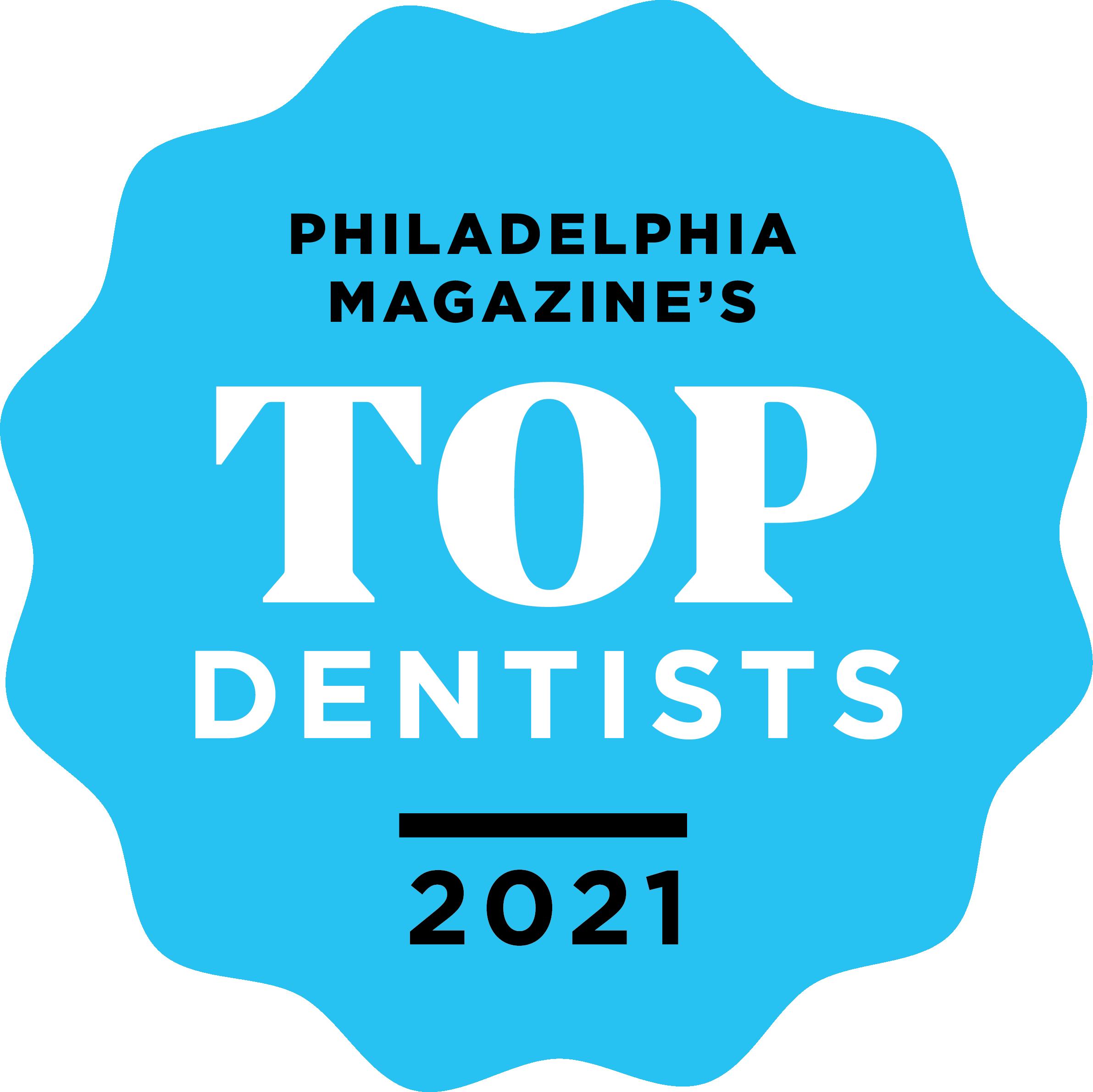 Philadelphia's Top Dentist logo